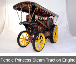 Pendle Princess Steam Traction Engine